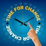 temps du changement